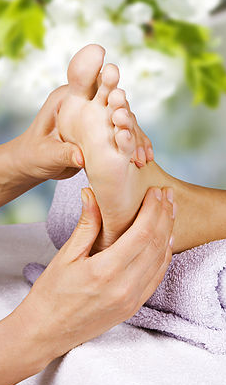 Reflexology ​​treatment