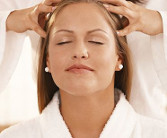 Relax with an indian head massage